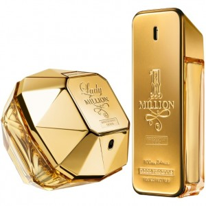 1 million lady million absolutely gold-flacons-paco rabanne
