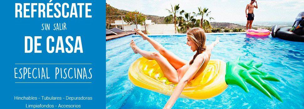 piscinas y accesorios, cloradores, limpiafondos, depuradoras,