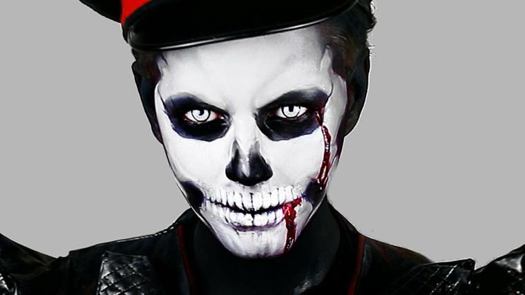 halloween maquillaje fantasma