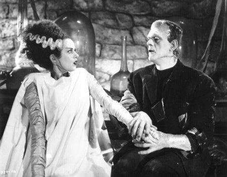 Disfráz Frankenstein y su novia