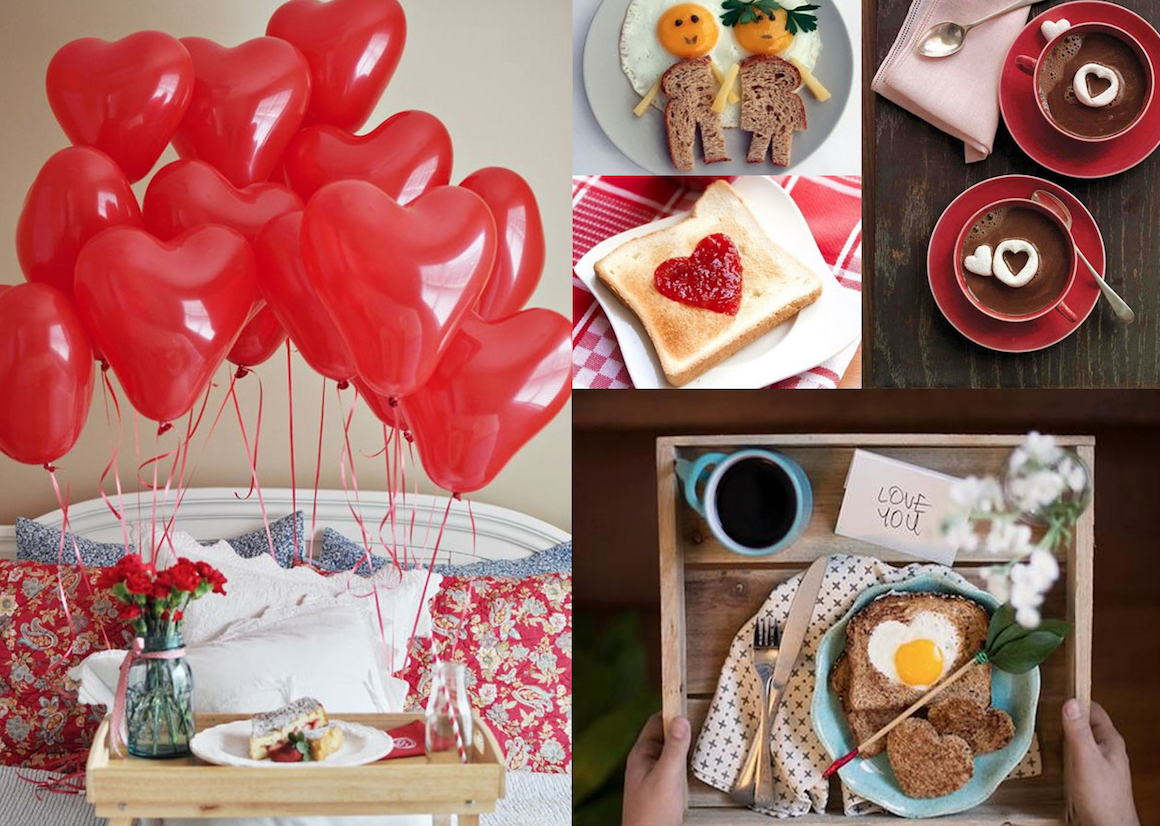desayuno para enamorados